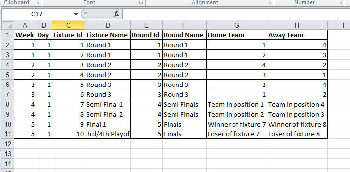 Creating or Modifying Fixture Generation Templates : Spawtz Support